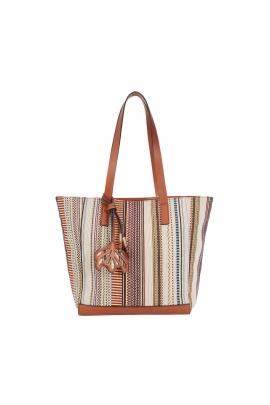 Shopper Bag LOTUS Camel L