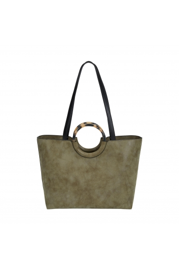 Shopper Bag CARMEN 1 Khaki M