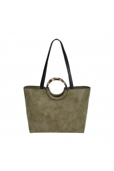 Shopper Bag CARMEN 1 Khaki M