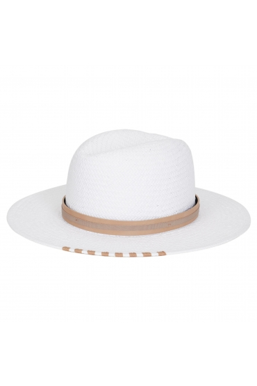 Fedora Hat GENERAL HATS White U