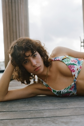 Tropical Bikini Top - Leopard   Desigual