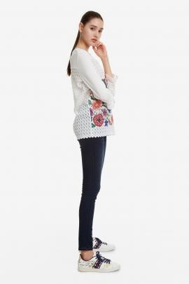 Floral Stamped Sweatshirt - Brenda | Desigual