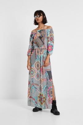 Long floral dress - Dera | Desigual