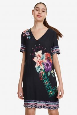 Nordic-Inspiration Dress - Barta | Desigual