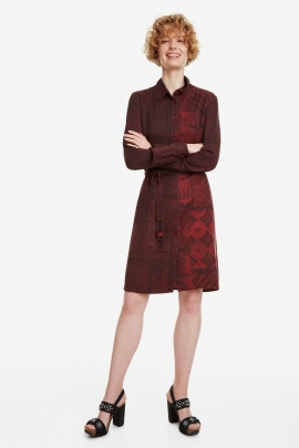 Patch Shirt Dress - Erin | Desigual
