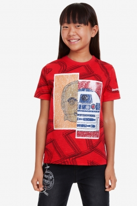 Star Wars Sequinned T-shirt - Four | Desigual