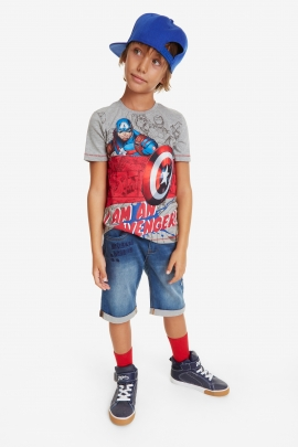 Marvel Heroes T-shirt - Captain | Desigual