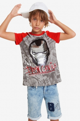Iron Man T-shirt - Iron | Desigual