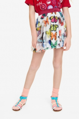 Fish Tulle Layer Skirt - Balsareny | Desigual