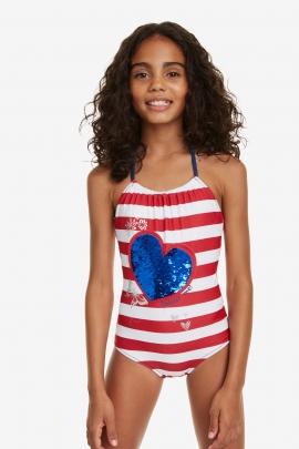 Costum de baie pentru fetite