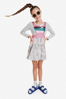Fitted-Waist Dress - Oroya | Desigual
