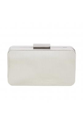 Box Bag ENDLESS Silver M