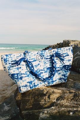 GEANTA BLUE WAVES CORTLAND | DESIGUAL