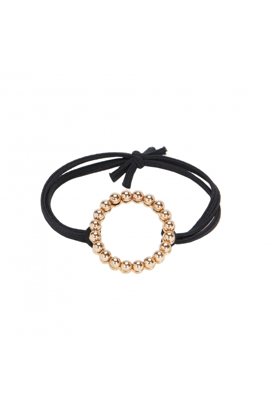 Hair Elastics BLOGHA Black U