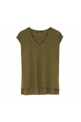 Tricou LATERAL Khaki M/L