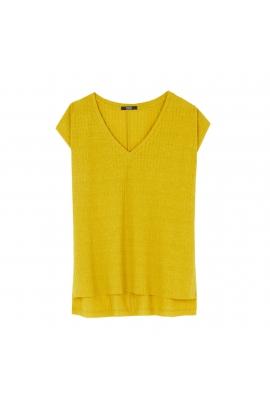 Tricou LATERAL Mustard M/L