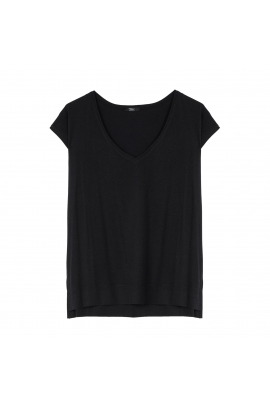 Tricou PERMANENT Black M/L