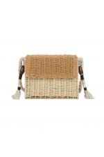 Crossbody Bag TWIST Beige M