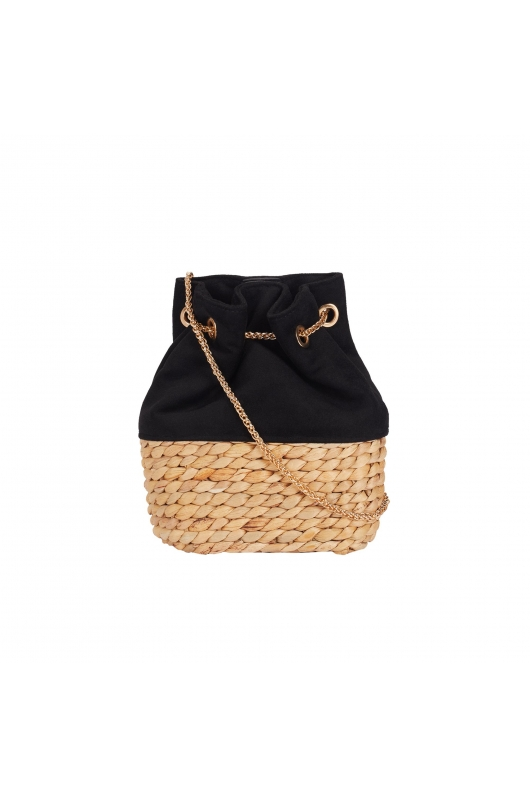 Bucket Bag TWIST Black M