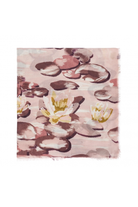 Printed Scarf WATERCOLOR SS20 Pink M