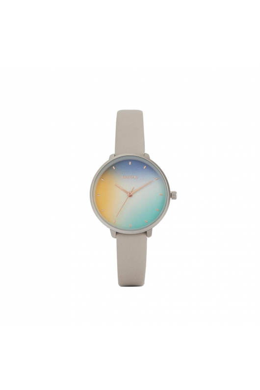 Casual Watch Silver Tray Grey U