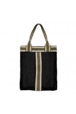 Shopper Bag Stones Total Look Black M