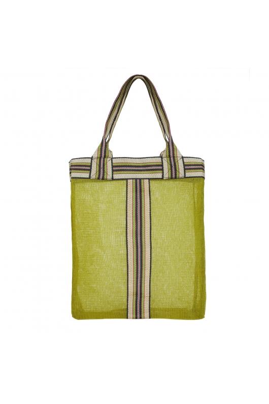 Shopper Bag Stones Total Look Green M