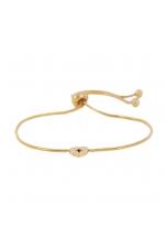 BRATARA STAINLESS STEEL GOLDEN Gold U
