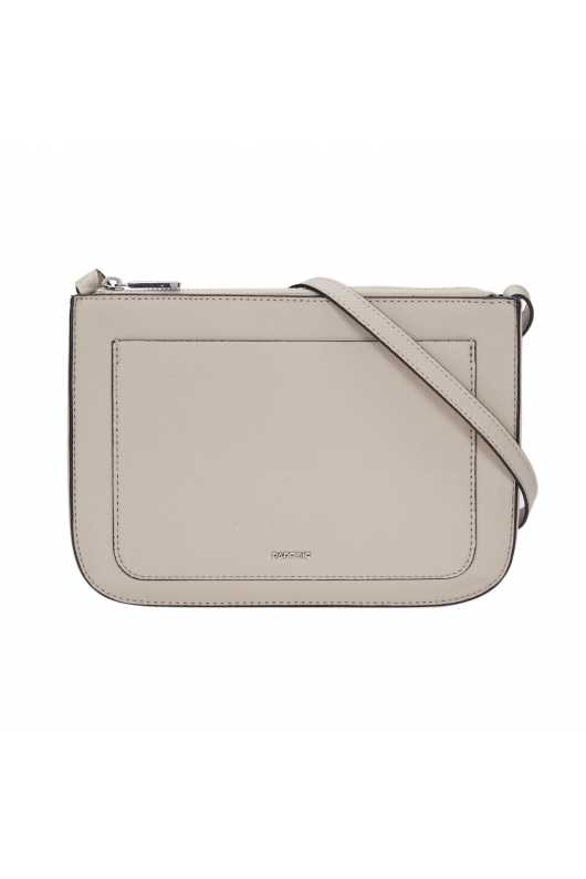 Crossbody Bag DANCING Light Grey M