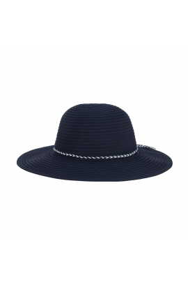 Rounded Crown Hat Navy U