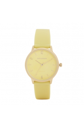Casual Watch Silver Tray Lime U