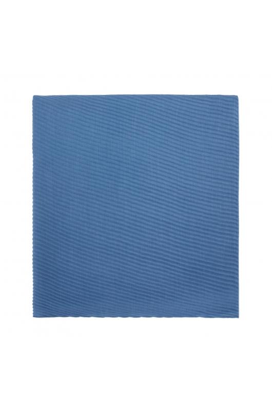 Pashmina Terracotta Spring Light Blue M