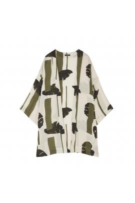 Kimono LEAVES Khaki U