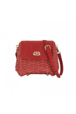 Crossbody Bag STRAW1 Pink M