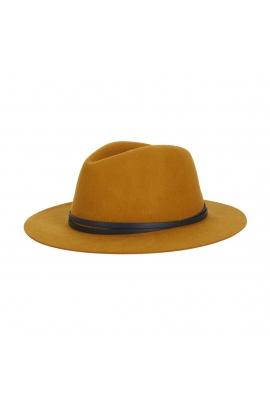 Fedora Hat Mustard U