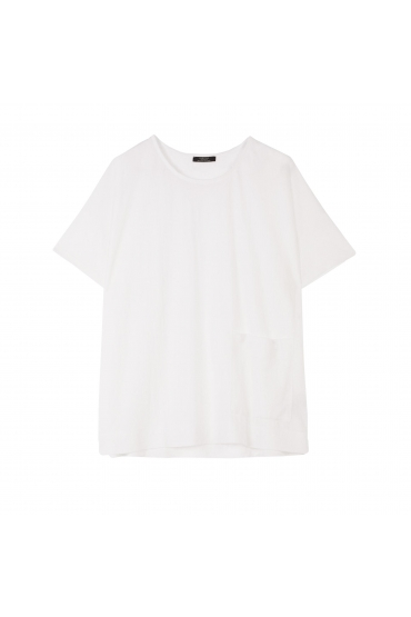Tricou alb oversized
