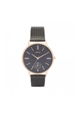 Casual Watch Rose Gold Tray Black U