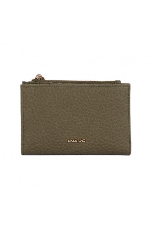 Wallet Basic Wiosna Khaki XS