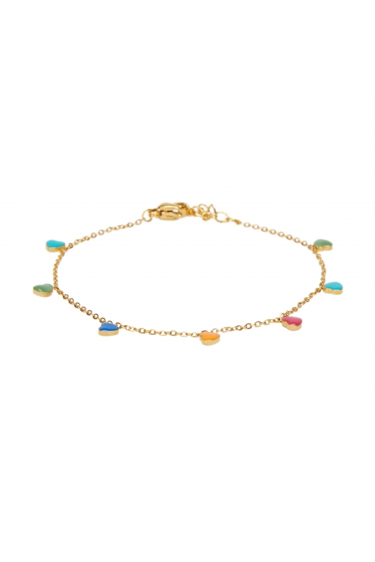 BRATARA ARM COLORFUL STRASS Bright Multicolor U