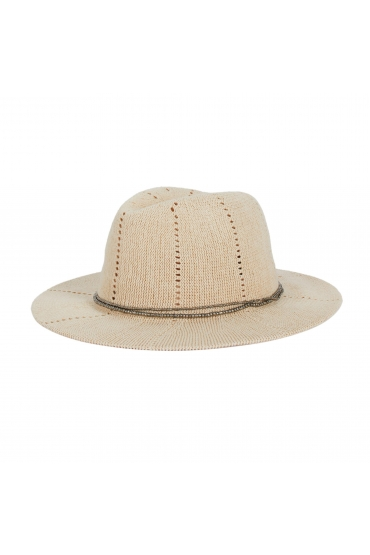 Fedora Hat Off White U