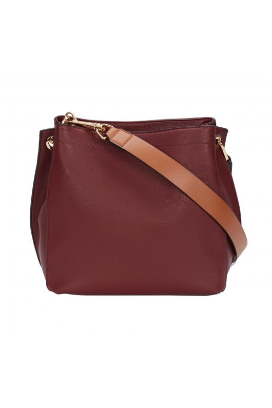 Tote Bag RETANGLE Burgundy M