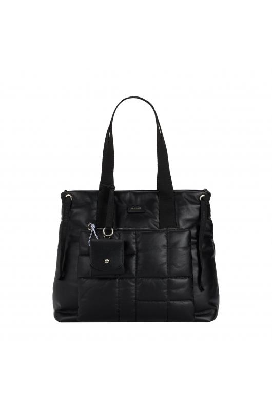 Shopper Bag PILLOW Black L