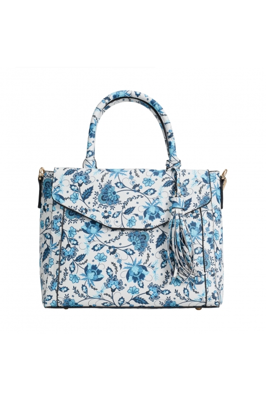 Tote Bag OUT BLOOM Blue M