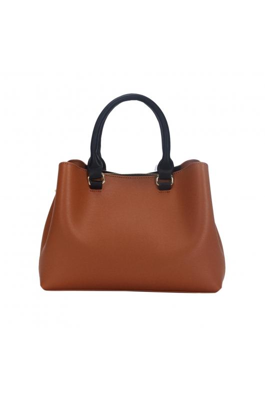 Tote Bag CROWN Camel M