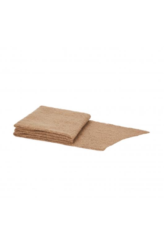 Blanket Scarves Winter Camel M