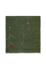 Printed Scarf Twilight Colors Green M