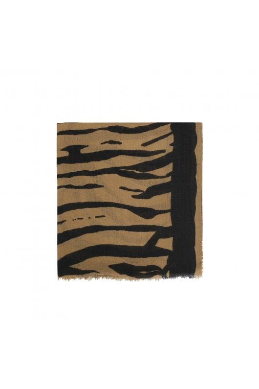 Blanket Scarves PSICADELIC WINTER Brown M