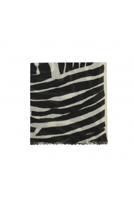 Blanket Scarves PSICADELIC WINTER Ecru M