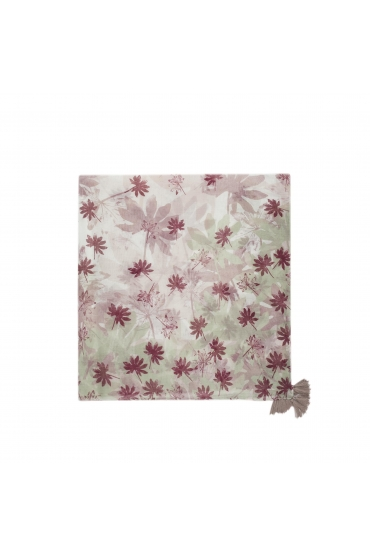 Printed Scarf PANEL Pink M
