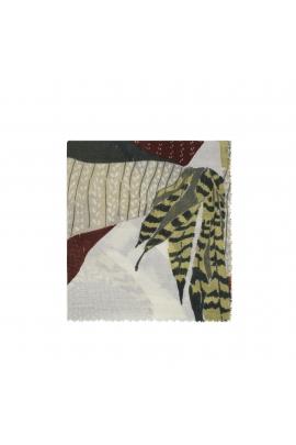 Blanket Scarves LAMAS Green M
